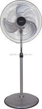 metal material stand fan ,copper motor