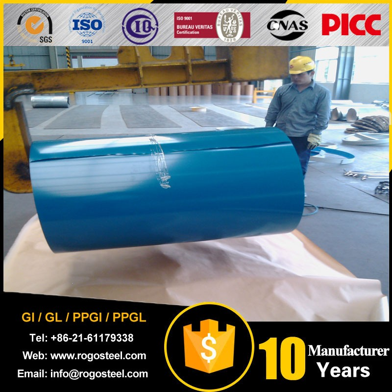 high quality prepainted galvanized steel coilRal Color Ppgi Steel Coil Stock with 0.15mm thickness