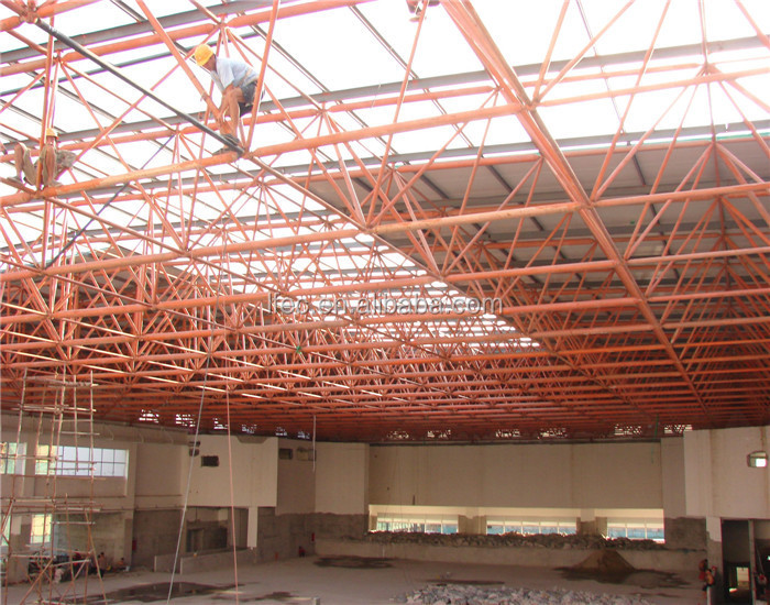 Pre Engineering Steel Structure For Workshop Buildings