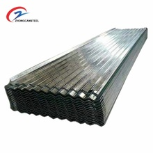 Shandong Zhongcan Factory direct sale galvanized corrugated Zinc Aluminum roofing sheet price