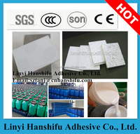 High quality water based glue for PVC Cover Gypsum white latex emulsion