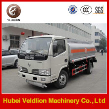 4x2 small 5000 liters fuel tank truck
