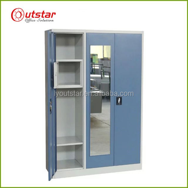 Hot sale folding metal cupboard wardrobe
