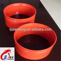 red green internal and external plastic coating steel pipe tianjin