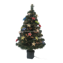 Small Mini 2ft Fiber Optic Christmas Tree For Home Decoration