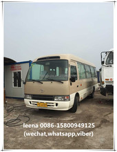 toyota coaster mini bus in good condition