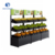 Excellent quality supermarket fruit and vegetable display shelf square promotional stand rack