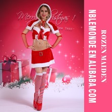 Hot Sale New Design Female Sexy Christmas Costume