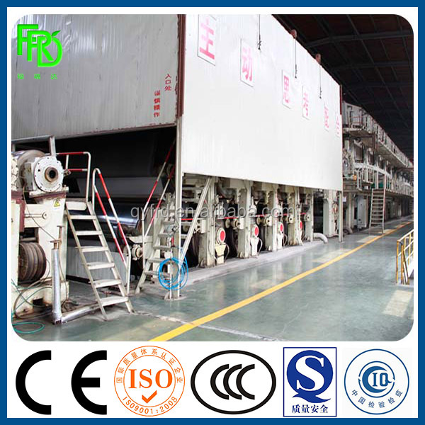 1880 Semi-Chemical Corrugated Paper Making Machine / Corrugating Base Paper Making Machine