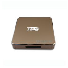 NEW TP6 TV BOX 4K ANDROID 6.0 AMLOGIC S905X 2GB/16GB WiFi TV STREAMING MEDIA PLAYER WITH KODI 16.1 XBMC OVER 2000 APP