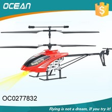 Red big size 3.5ch single blade helicopter toys rc for kids OC0277832