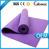 2016 Sales promotion eco friendly pvc yoga mat/Wholesale yoga mat in low price