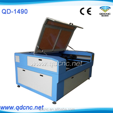 Contact Supplier Chat Now! CO2 screw drive 80W/100W/130W/150W laser cnc cutting machine QD-1490 skype:qdcnc09