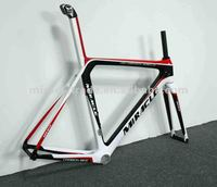 2012 areo new racing carbon frame ,Miracle branded carbon road bicycle