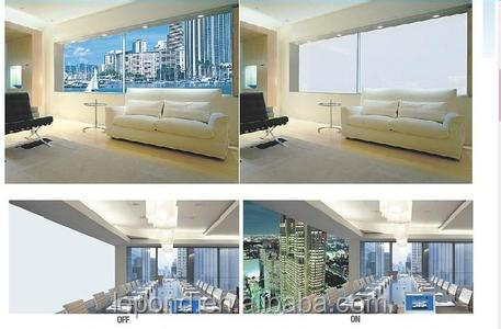 3-6mm dimming glass smart glass/Magic Switchable Glass
