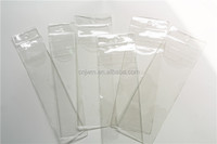 Wholesale small reusable clear plastic pvc ziplock bag for brush packaging