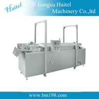 automatic heat-exchanging frying cooker potato chips frying machine
