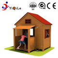 Most popular Outdoor equipment playground christmas wooden house for children
