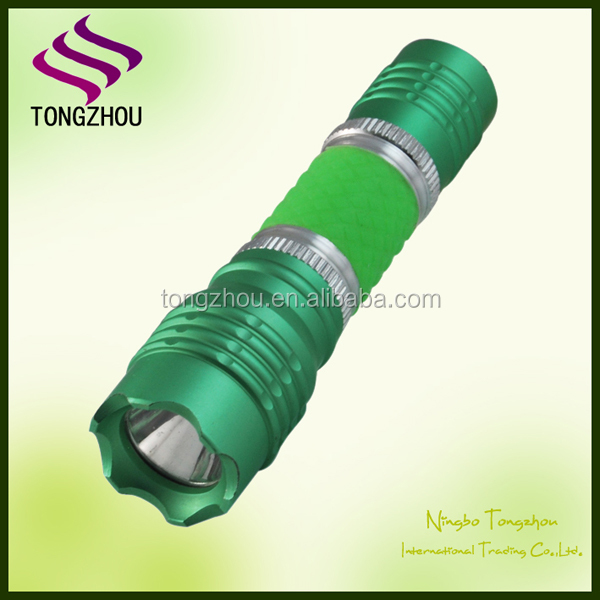 Mini cheap anodized aluminum led flashlight