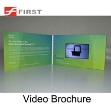 New Design china factory cheap price 4.3inch lcd Video business card