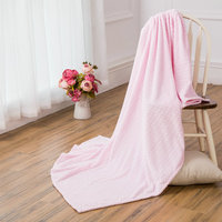 Gaily and Super Soft Plain Baby Blanket