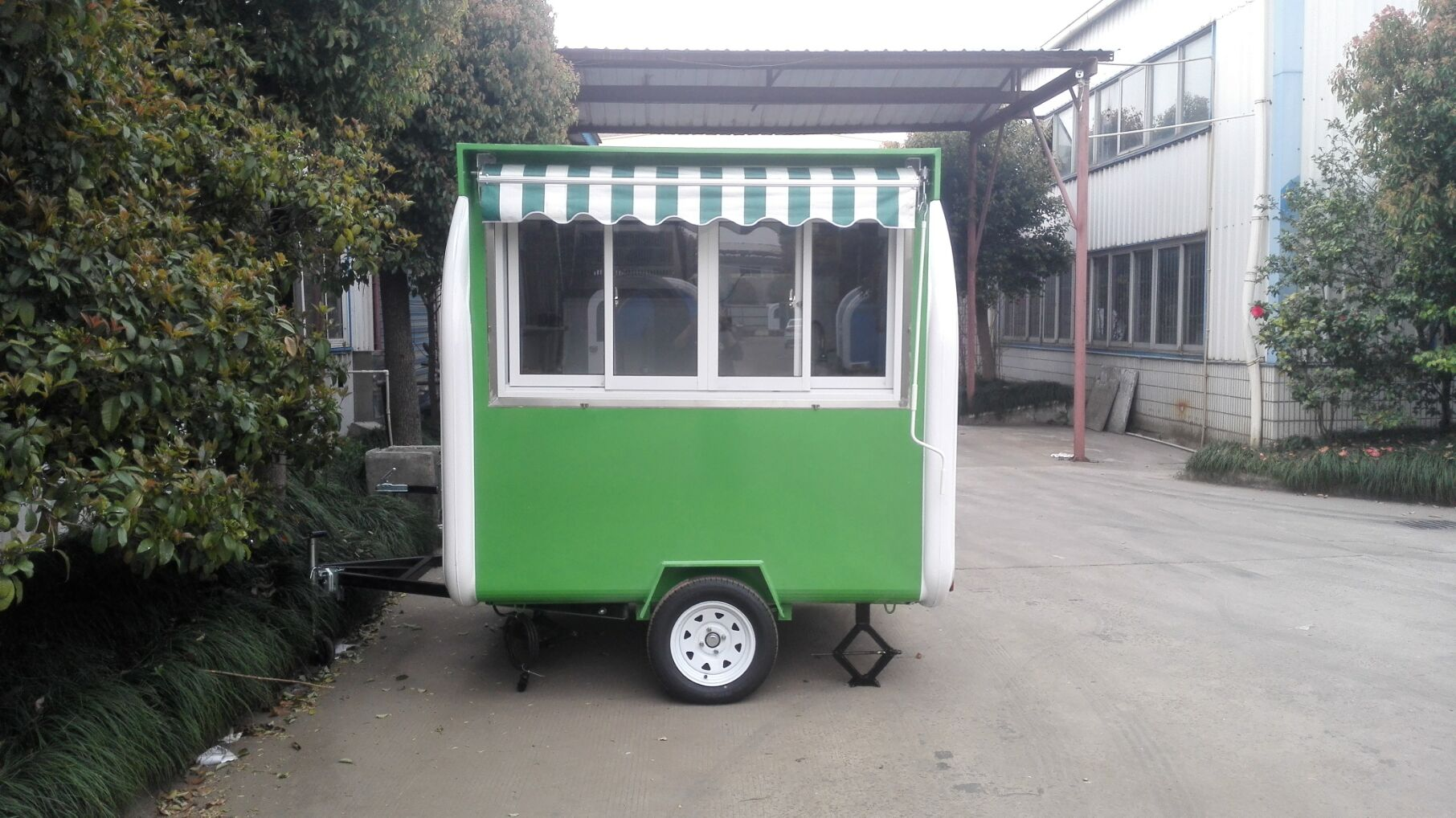 To sell ice cream food truck mobile food trailer, hot dog food cart