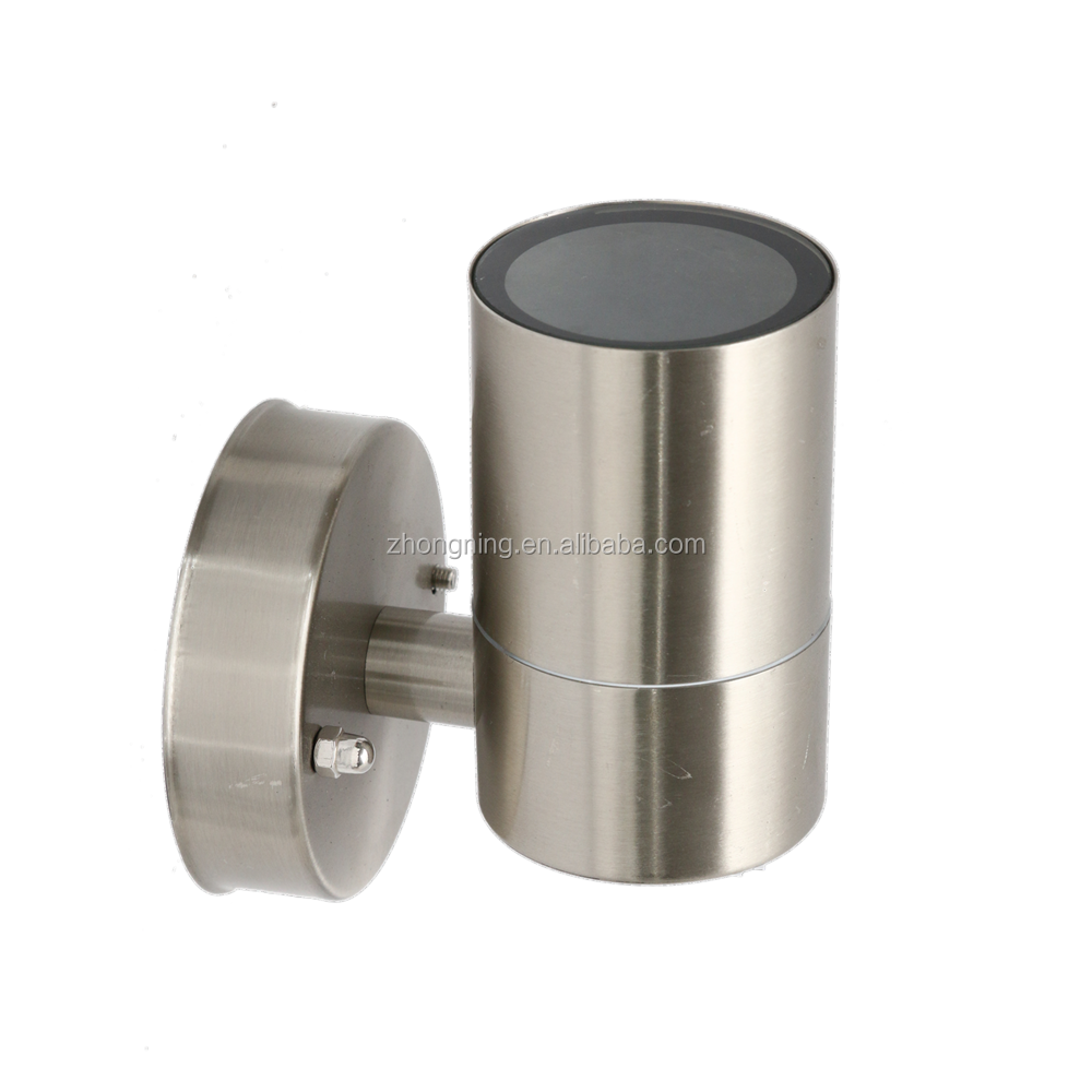 waterproof stair led wall light Stainless steel Cylinder