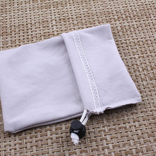 New Products Microfiber Jewelry Bag With Logo Printed