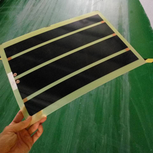 Hot selling electric infrared radiant wall glass panel heater