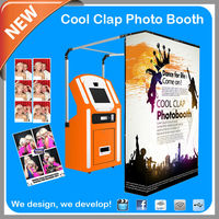 Spuermaket Equipment Vending Photo Booth Machine good for Rental