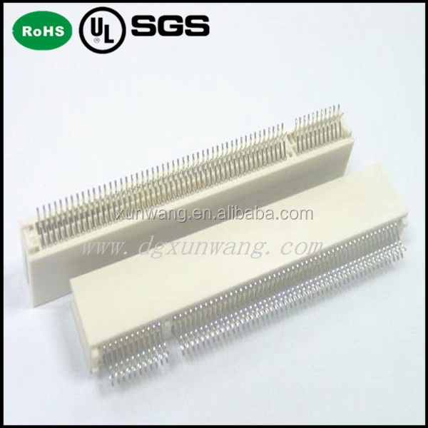 1.27mm pci card connector slot pcb dip 180