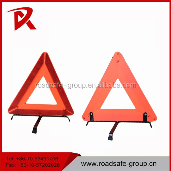 Reflective Warning Sign Car Triangle