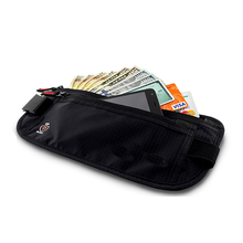 Travel Money Belt with 4x RFID Blocking Card Sleeves