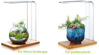 Aquatic landscaping LED aquarium light for wabi kusa moss tank micro landscape and potted plant tank