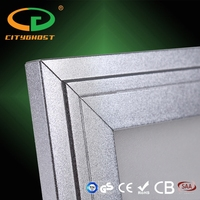 High quality CE Square ultra thin led panel lighting with 3 years warranty 60 60 cm