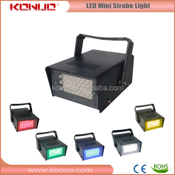 Konuo stable quality LED-S24 LED mini strobe light cheap led light