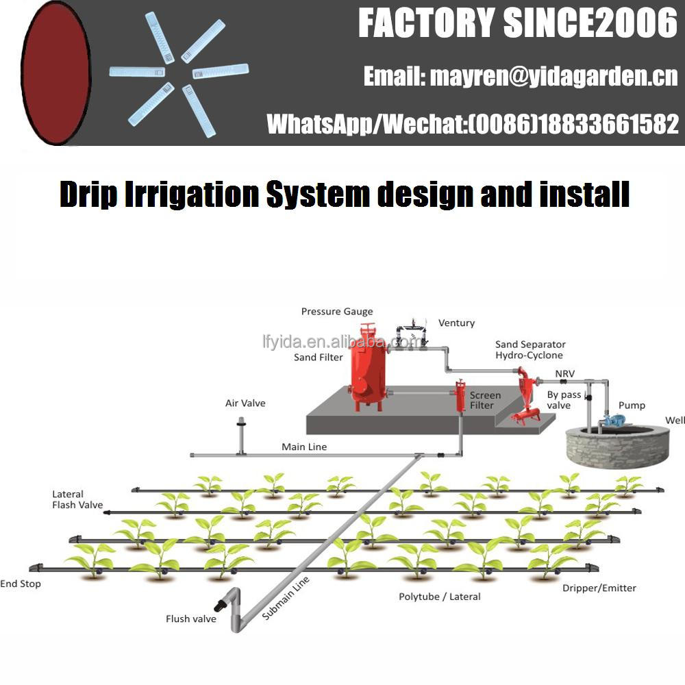 professional design agriculture project Drip Irrigation System