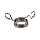 OEM Spring Steel Wire Spring Torsion Double Hose Clamp