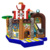 GMIF70915060 Great funny Pirate house shape jumping bouncer