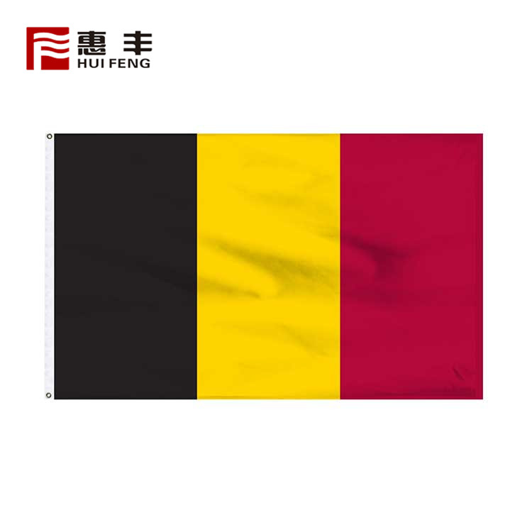 New Custom 3X5 Belgium National Flag
