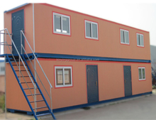 kinying brand hot sall china new prefab homes modular villa prefab flat packed container house