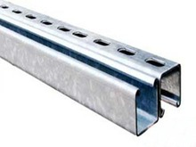 perforated steel C channel/strut channel