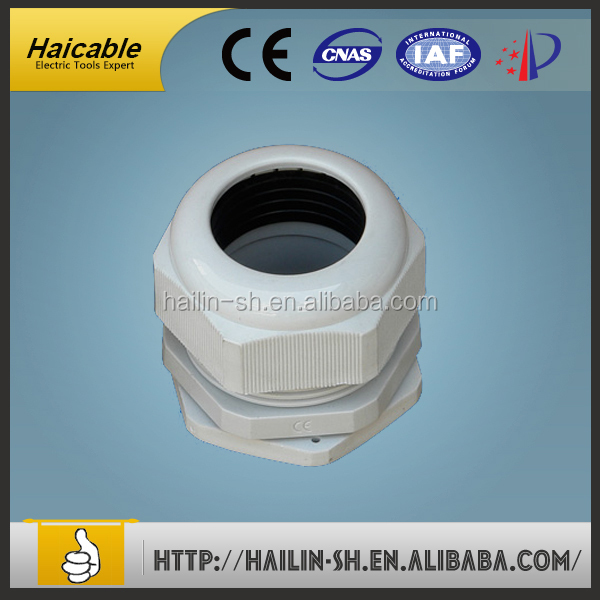 plastic wire gland cable gland size Waterproof Rubber Cable Gland