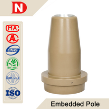 24kV 630A high voltage epoxy resin insulated wall bushing/cable accessories
