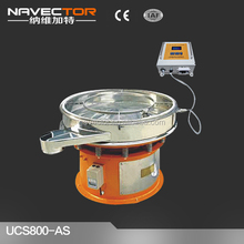 Navector filter machine for slaked lime