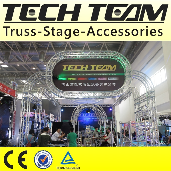 Decorate Truss Circle , Round Truss For Exhibition , circle truss for sale