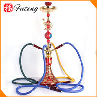 Colorful Smoking Hookah with Camel and Flower Vase