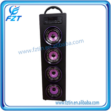 Original factory deep bass dynacord cobra speaker system UK-22 tower with Play Music