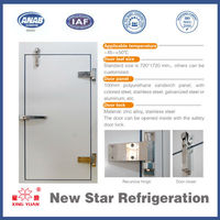 Cold room door/freezer/freeze door
