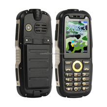 2.4 Inch mobile phone POWER P18 Rugged Style 2000mAh Magic Voice Power Bank mobile phone